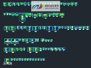 99张单元幕墙节点详图