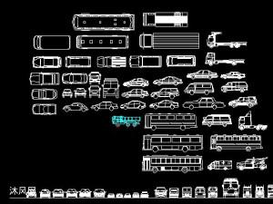 各种汽车CAD图档