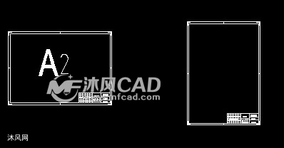国标CAD图纸的图框