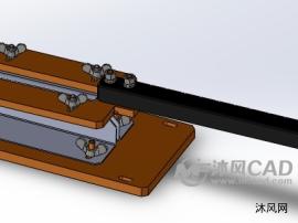电阻管脚折弯器