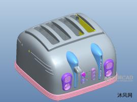 多炉式烤面包机模型