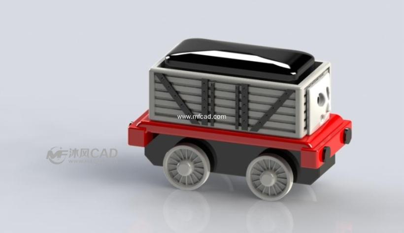 卡通小货车设计模型