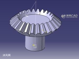 catia锥齿轮模型