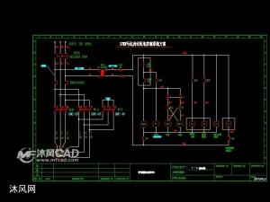 电动机星三角启动电路图