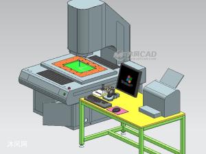 二次元測量儀器