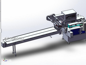 枕式包裝機模型