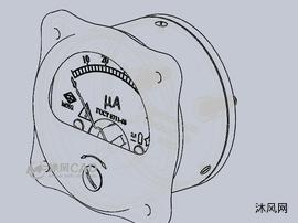 安培电流表设计模型