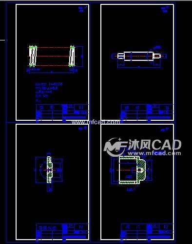 怎样用CAD画机械零件图