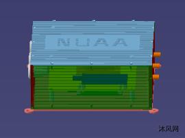飞控盒包含飞控板及陀螺仪