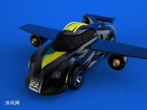 未来飞行汽车设计模型