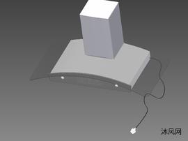 抽油烟机3D模型