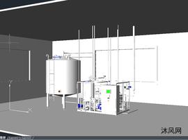 CAD杀菌消毒器立体图