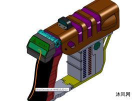 激光扫描仪设计模型