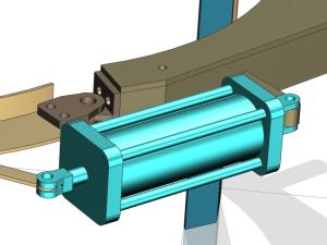 萬向機器人手爪(invntor)設計模型