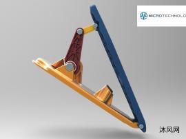 踏板总成设计模型