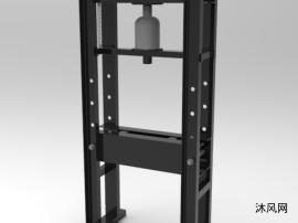 简易油压机模型