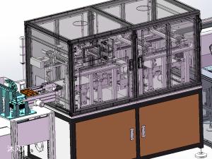 自动PCB上下料点胶测试自动线