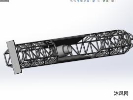 卫星天线支架零部件模型
