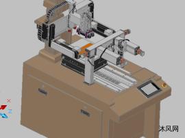 絲印機CAD做得三維模型