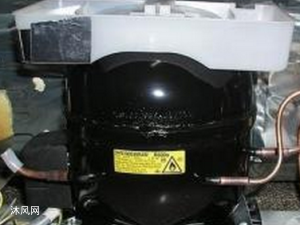 冰箱用压缩机模型 有内部结构