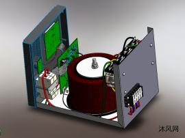 稳压器电压稳定器模型
