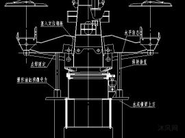 135吨板坯连铸机反转展转支承替换图纸