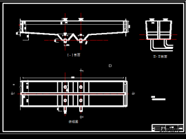 平流式沉砂池CAD