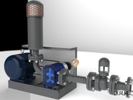 螺杆式空气压缩机模型