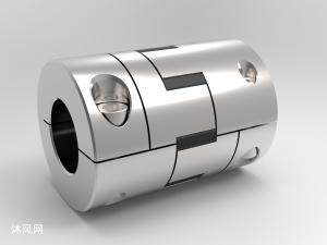 彈性連接器聯軸器UG模型