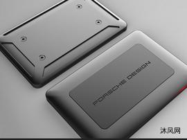 為保時捷設計的外部USB硬盤驅動器