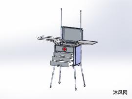 可升降拉杆式多功能出诊箱