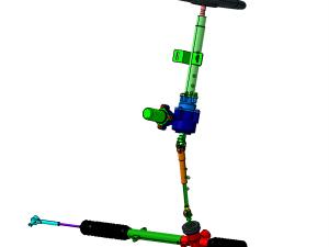 EPS電動助力轉向系統(轉向器)設計