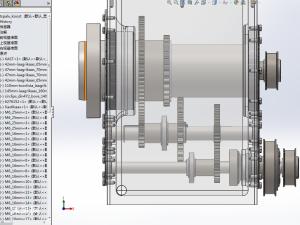 CNC数控加工齿轮传动机构模型