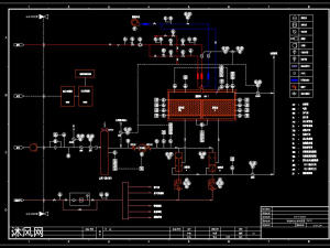 有机废气 VOCs RTO工艺 蓄热焚烧 全套图纸(工艺流程图、RTO设备加工图等)