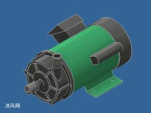 MP磁力循环泵外观模型
