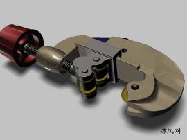 螺旋測微器 3D模型