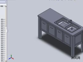 洗手池(台面)设计模型