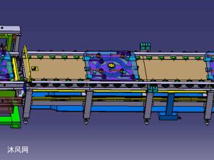 发动机装配线设计