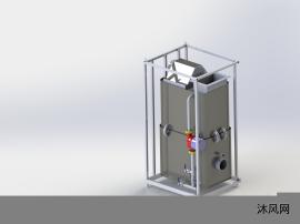 工业热水器设计模型