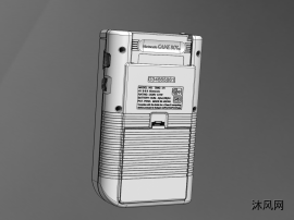任天堂的(神奇宝贝专用)游戏机设计模型