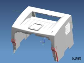 打印机外壳注塑模具