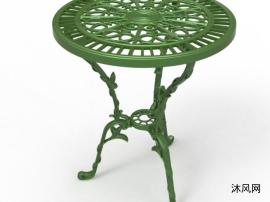 漂亮铸铁桌子