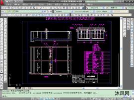 19米桁架式泵吸泥机CAD总图