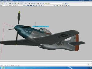 美国P51野马战机AUTOCAD模型文件