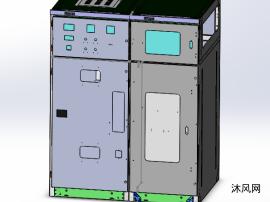 HXGN环网柜全套钣金电气图纸