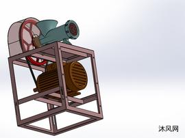 绞肉机模型sw
