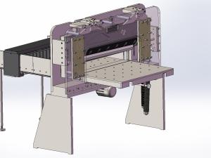 940液压数显切纸机模型