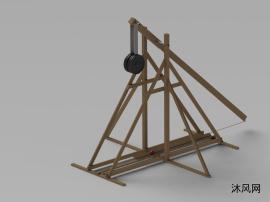 重力抛石机模型