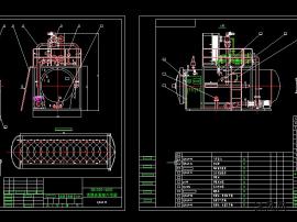 全套DN1500高温高压调理式杀菌釜技术图纸