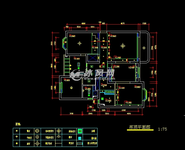 非常完整的室内设计CAD规范图纸 CAD施工图